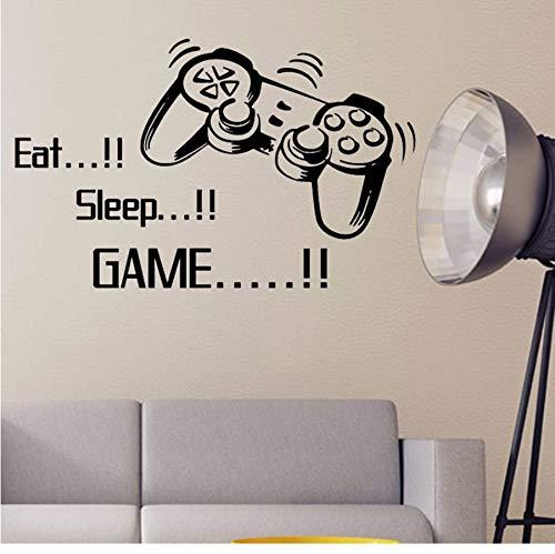 (Xzfddn Neue Eat Sleep Spiel Buchstaben Game Controller Vinyl Wandaufkleber Für Jungen Jungen Schlafzimmer Einrichtungsgegenstände Einkaufen)