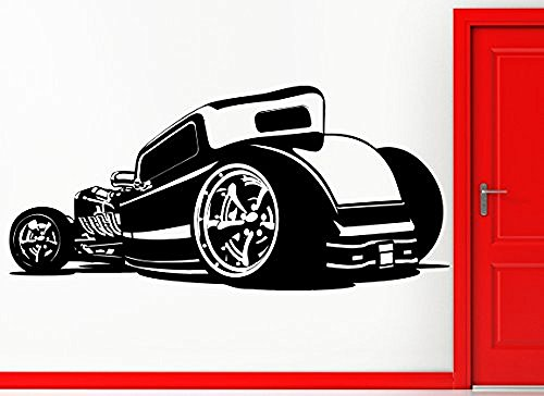 ggww-wall-stickers-vinyl-decal-old-antique-car-automobile-cool-decor-z2407