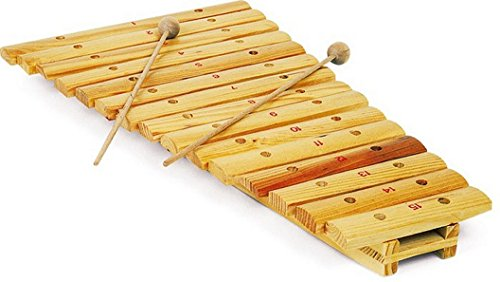 Wooden 15 Note Xylophone