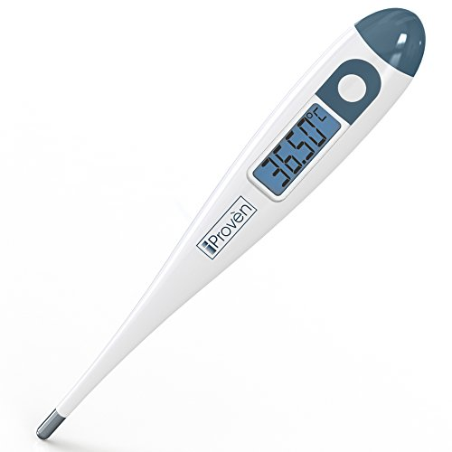 Basalthermometer zur Zykluskontrolle- Präzises Basalthermometer mit 2-nachkommastelliger Anzeige - iProven BBT-113i (mit Hintergrundbeleuchtung)