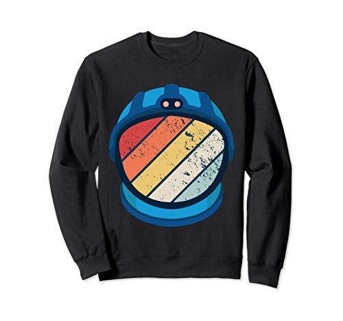 Astronaut Kostüm Party - Vintage Astronaut 90er 80er Jahre Motto Party Outfit Kostüm Sweatshirt