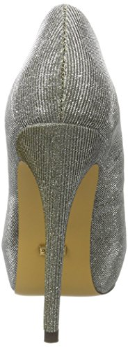 Buffalo David Bitton Rk 1211-84-a Glitter, Escarpins Bout Ouvert Femme Multicolore (Champagne 01)