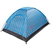 Mountain Warehouse Festival 2 Man Tent - Lightweight Couple Tent, Automatic Pitching, Water Resistant, Air Vents - Camping Accessory for Outdoors, Summer, Backpacking