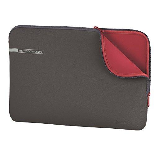 """Preisvergleich Produktbild 'Hama Neopren 15.6""""Hülle Grau, Rot–Taschen von Laptops (Tragetasche, 39,6cm (15.6), 160g, grau, rot)"""