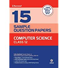 15 Sample Question Papers Computer Science Class 12th CBSE