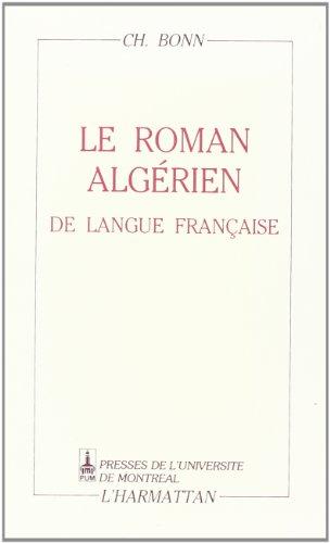 Le roman algérien de langue française
