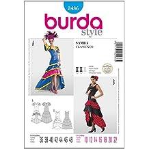 Burda Patrón 2486 Carnaval Vestido