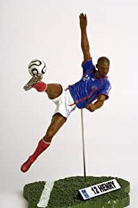 Figurine - Equipe de France de football - Thierry Henry - 7,5 cm -FT Champs