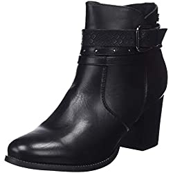 XTI 48400, Botines para Mujer, Negro (Black), 38 EU