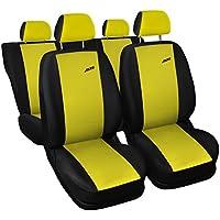 Sitzbezüge gelb vorne KOS SEAT IBIZA