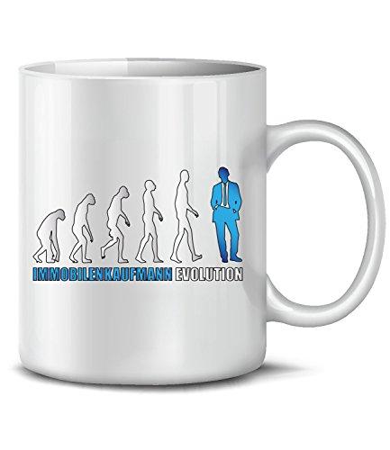 Immobilenkaufmann EVOLUTION 5903(Weiss-Blau)