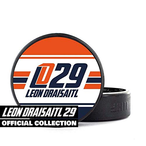 Scallywag® Eishockey Puck Leon Draisaitl I A BRAYCE® Collaboration (Trainingspuck o. Spielpuck NHL Superstar Edmonton Oilers)