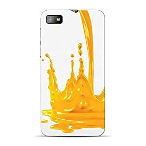 Inkif Printed Designer Case Mobile Back Cover For Blackberry Z10
