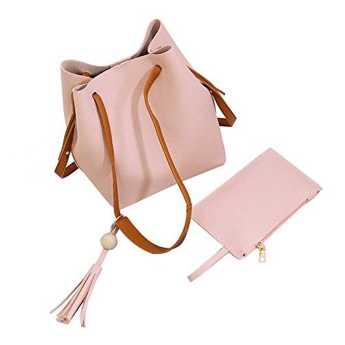 Rrimin Women's Shoulder Bag(Pink,)