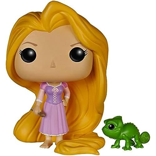 munecos pop kawaii Funko Pop! - Vinyl: Disney: Tangled: Rapunzel & Pascal (5135)