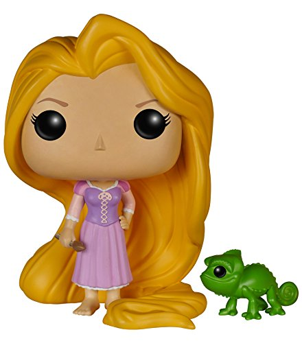 Funko FUN5135 - Pop! Disney: Rapunzel & Pascal Actionfiguren, 10cm (Disney Pop-figuren)