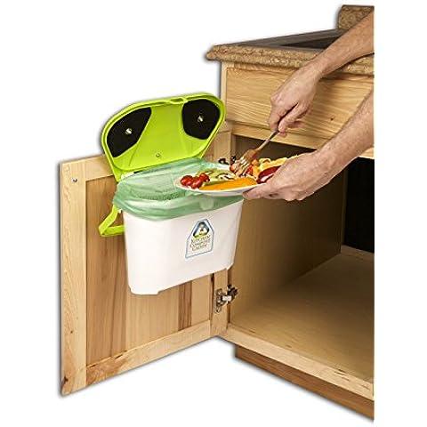 Kitchen Compost Caddy under sink mounted compost system by Kitchen Compost Caddy