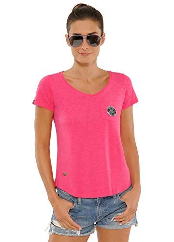 SPOOKS T Shirt für Damen Mädchen Kinder, tailliert Sommer Tshirt mit feinem Schriftzug bequem & stylisch - Sally Shirt XS-XL
