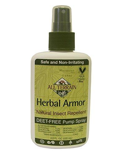 All Terrain Kräuterschutz Diethyltoluamidfreies Natürliches Insektenabstoßendes Pump-Spray 120 ml (4-unzen-sprühflasche)