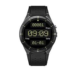 ZwbfuKINGWEAR KW88 Pro 3G Smartwatch Telefon 1,39 Zoll Android 7,0 MTK6580 Quad Core 1,3 GHz 1 GB RAM 16 GB ROM Smart Uhr GPS tragbare Geräte
