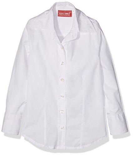 G.O.L. Mädchen Bluse Weiß (White 6), Herstellergröße:164