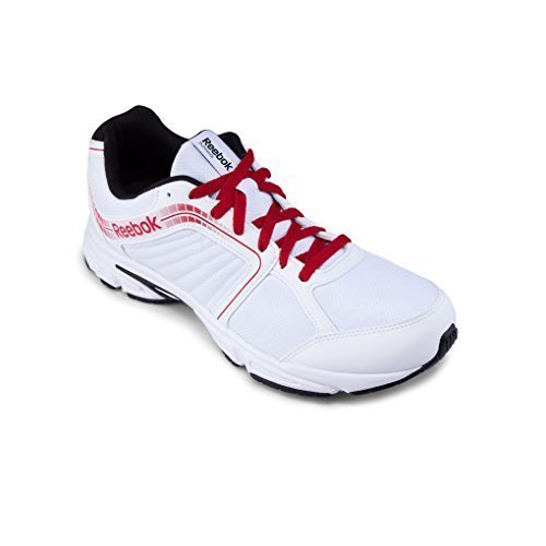 Reebok Tranz Runner RS 2.0 Mens Running Trainers (11 UK, White/Red/