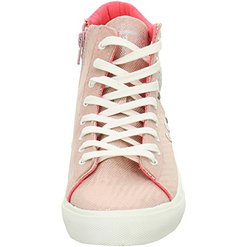 Replay 0044pink metallizzato Canvas Rot