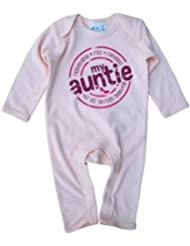 Dirty Fingers, My Auntie for all things shopping, Barboteuse bébé manche longue, 100% coton
