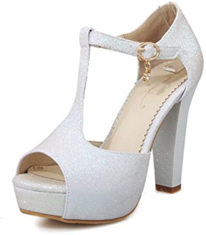 AdeeSu  s s  Pour Femme Blanc, 35.5 EU, SLC01212B01HUJEU7MParent 21c113