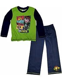 7cf6fe86b5f1b Ben 10 Childrens Boys Long Sleeve Top And Bottoms Pyjama Set