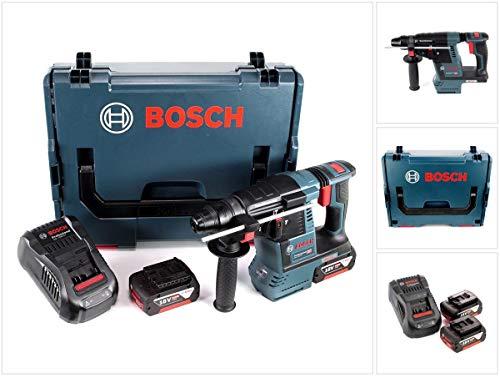 Bosch GBH 18V de 26Taladro Inalámbrico Professional SDS-plus en L-Boxx con 2x GBA 5Ah Batería...