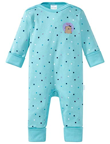 Schiesser Baby-Mädchen Ponyhof Anzug mit Vario Zweiteiliger Schlafanzug, Blau (Türkis 807), 86 (Herstellergröße: 086)