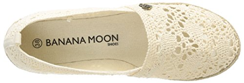 Banana Moon Olexa, Damen Ballerinas Beige (écru)