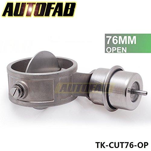 Valoxin (TM) Autofab-Nuovo vuoto attivato scarico ritaglio 7,6cm 76mm Open Style pressione: 1bar tk-cut76-op
