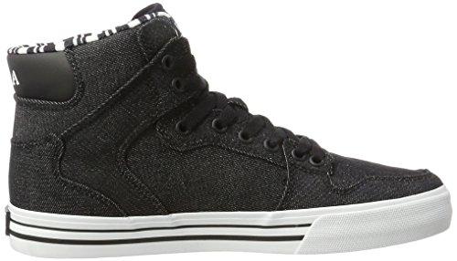 Supra  Vaider, Hohe sneakers homme Schwarz (Black-White)