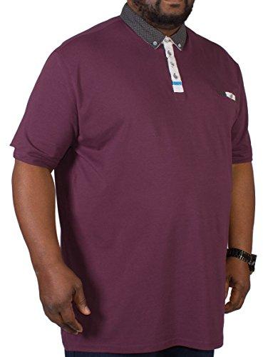 D555 -  Polo  - Camicia - Basic - Classico  - Maniche corte  - Uomo Red