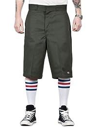Dickies - Shorts de Travail - Vert 42283 Shorts Poches Multiples 13
