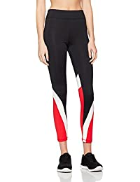 New Look Damen Sport Leggings Colour Blocked Contour
