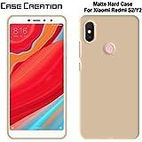 "Back Case For Xiaomi Redmi Y2, Case Creation TM Xiaomi Redmi Y2/Redmi Y2/Mi RedmiY2 (Mi Y2) 2018 (5.99"" Inch) Matte Finish Back Case Cover Guard Color - Pure Gold Color"
