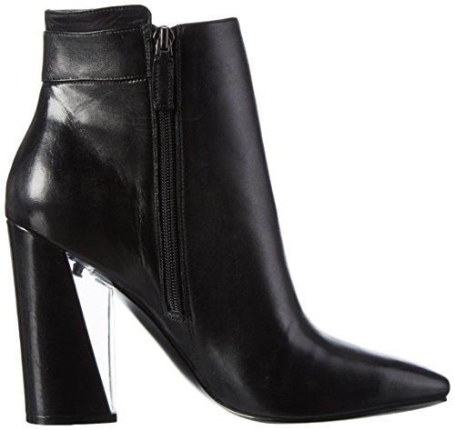Guess Eleda, Stivali alla caviglia con tacco Donna Nero