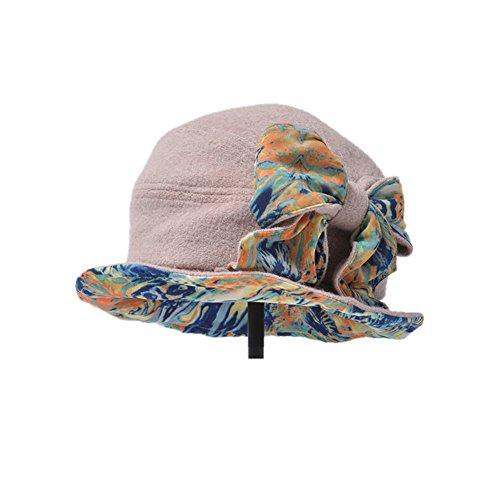 caldo in autunno e inverno berretto/Ladies' tessuto