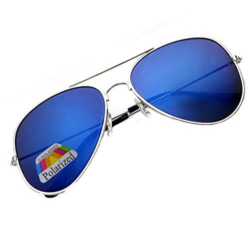 4sold Klassische Pilotenbrille Unisex Polarisierte Sonnenbrille Fliegerbrille Pornobrille in vielen...