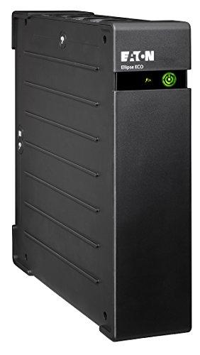 Eaton Ellipse ECO 1200 USB DIN - Unterbrechungsfreie Stromversorgung (USV) 1200 VA mit Überspannungsschutz (8 Schuko Ausgänge) -