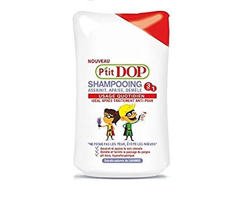 P'tit Dop - Shampooing Après Traitement Anti Poux - 250 ml - Lot de 3