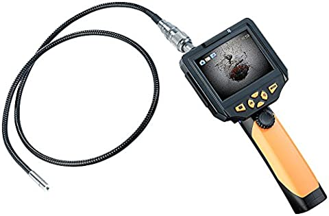 Somikon Endoskopkameras HD: HD-Endoskop-Kamera EC-200.hd, 8,2 mm mit Monitor & Aufnahme, Länge 2 m (HD-Endoskop-Kameras)