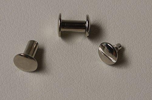 GGM 20 Buchschrauben 10mm vernickelt