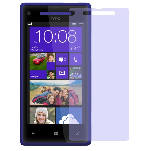 dipos I 2X Schutzfolie matt passend für HTC Windows Phone 8X Folie Displayschutzfolie (Htc Windows Phone)