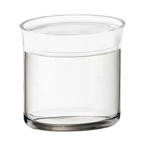 Lagerbehälter Klar (Guzzini Latina Oval Vorratsdose, Klar, 500ml)