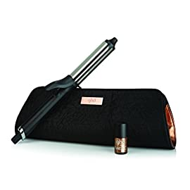 ghd copper luxe - 41a3JowOnOL - ghd Copper Luxe Soft Curl Tong Gift Set