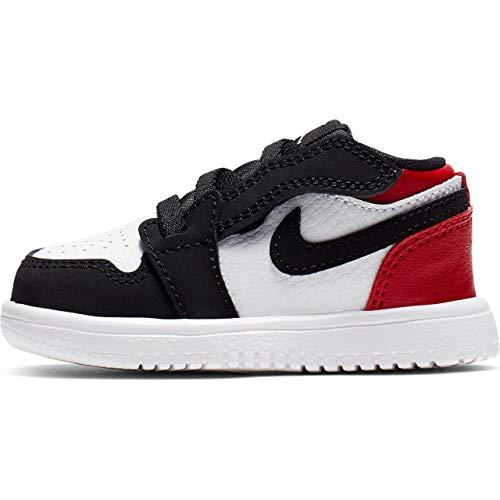 Nike Jordan 1 Low Alt (TD), Zapatillas para Bebés, (White/Black/Gym Red 116),...